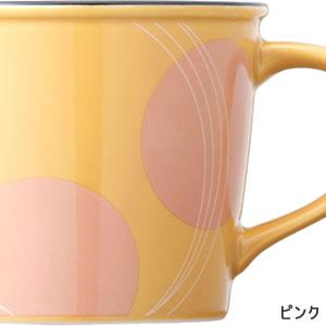 adorno(アドルノ)ホーロー風マグカップ トルス(THOLUS)ピンク【キッチン雑貨/食器】の詳細画像