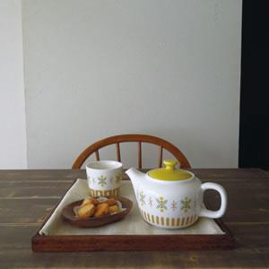 デコレ(DECOLE)LYKKA ティーポット【北欧風雑貨/食器】の使用画像