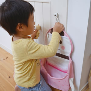 デコレ(DECOLE)変身アニマルおでかけバッグ 各種【キッズ/収納/手さげカバン】の使用画像