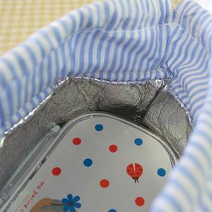 デコレ(DECOLE)保存ランチ巾着 各種【キッズ/お弁当袋】の内側詳細画像