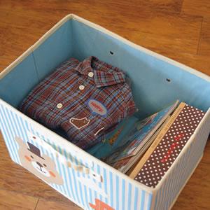 デコレ(DECOLE)プチシャンブル 収納BOX(L)の詳細画像