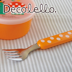 デコレ(DECOLE)デコレロ フォーク&ケース きのこの使用画像
