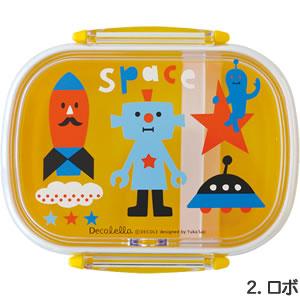 デコレ(DECOLE)デコレロ タイトランチBOX 1段 ロボの全体画像