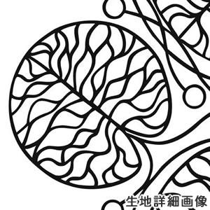マリメッコ(marimekko)ボットナ(Bottna)ホワイトの生地(ファブリック)詳細画像