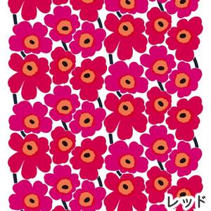 マリメッコ(marimekko)ファブリック(生地)ピエニウニッコ(Pieni Unikko)2 レッドの画像