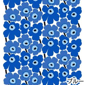 マリメッコ(marimekko)ファブリック(生地)ピエニウニッコ(Pieni Unikko)2 ブルーの画像
