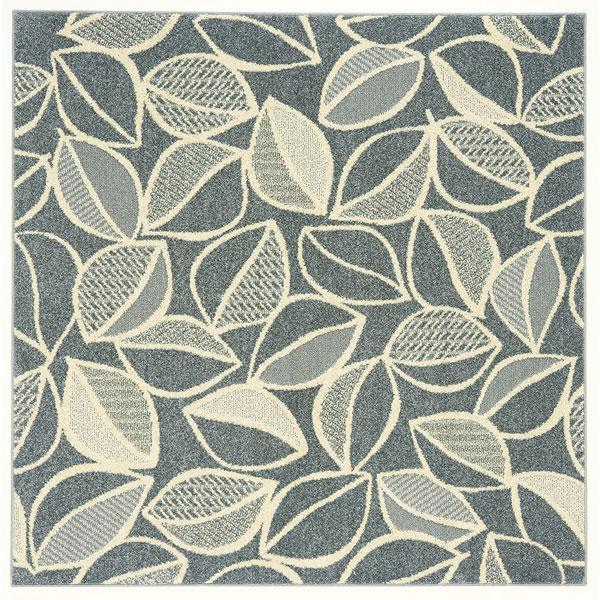 スミノエのラグマット カラープランツ(COLOR PLANTS)【おしゃれ/通年】グレーの全体画像