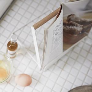 レシピスタンド トスカ【キッチン収納/おしゃれ】ホワイトの詳細画像