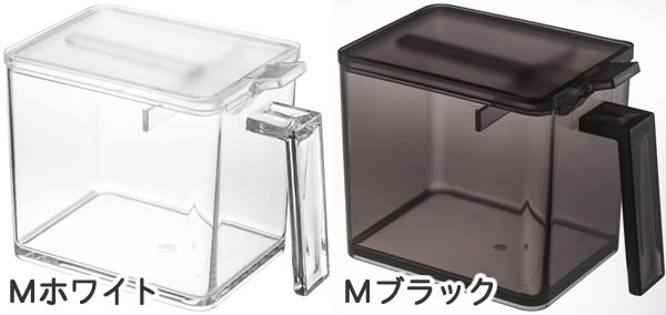 調味料ストッカー タワー Mサイズ【キッチン収納/おしゃれ】のカラーバリエーション全体画像